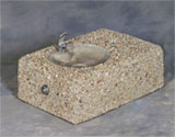 Drinking Fountain Concrete Wall Mount Series