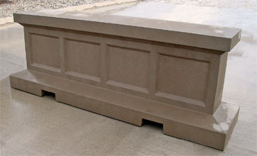 Wall Barrier Concrete